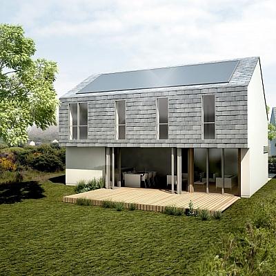 Eco House - Cornwall