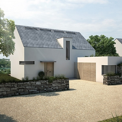 Eco House - Cornwall